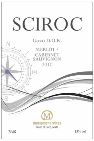 Sciroc Red Wine - Merlot - Cabernet